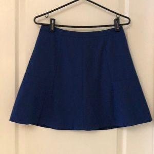 J Crew fluted skirt.